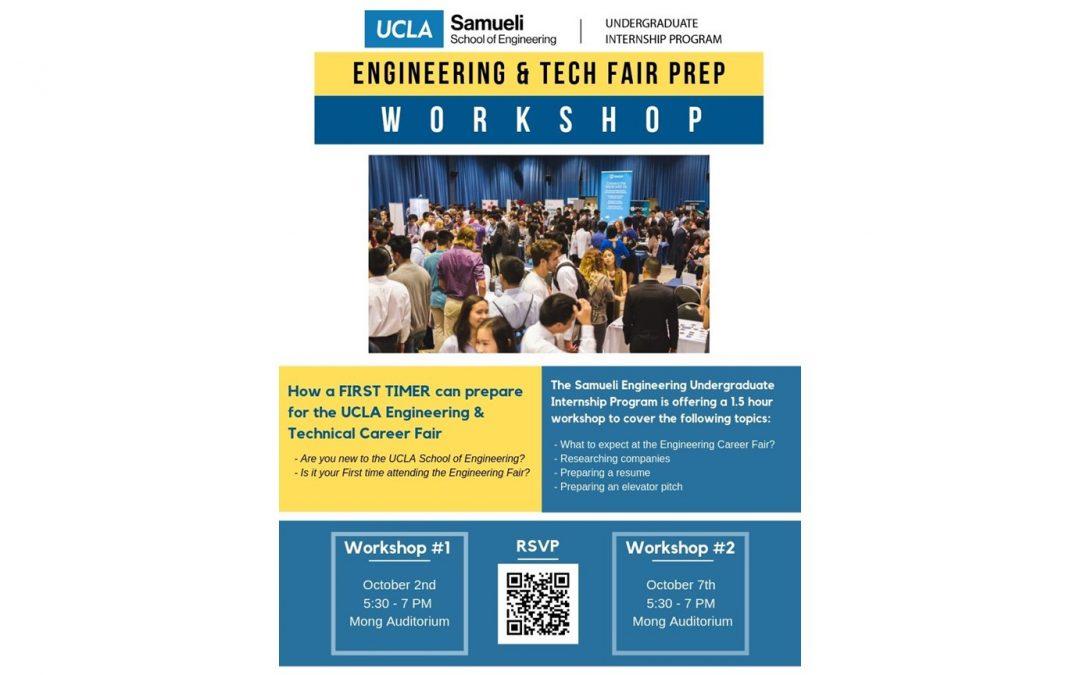 Engineering & Tech Fair Prep Workshops