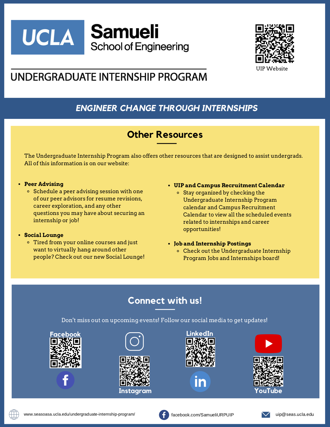 What is the Undergraduate Internship Program?