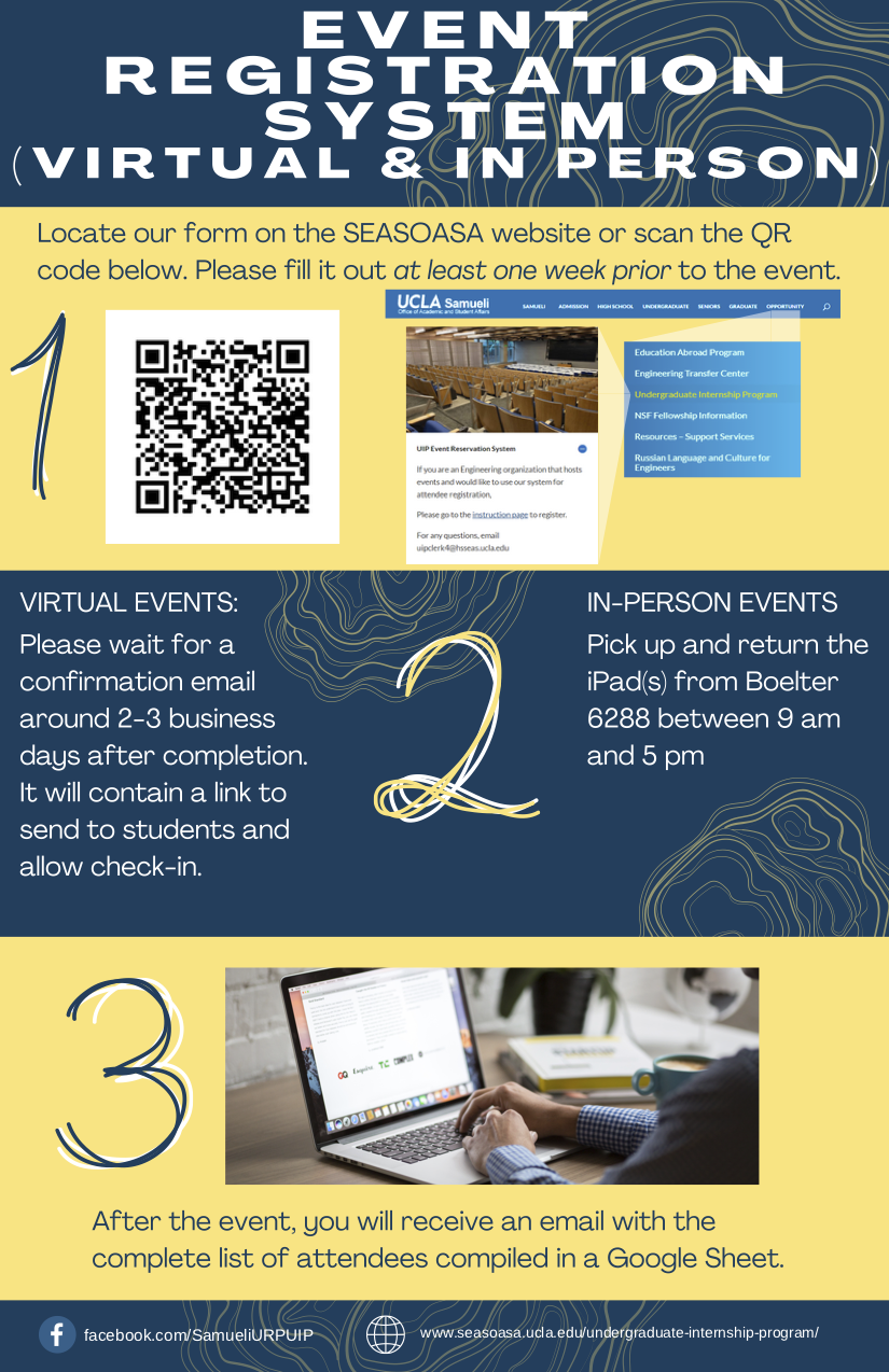 Event Registration System (Virtual + In Person)
