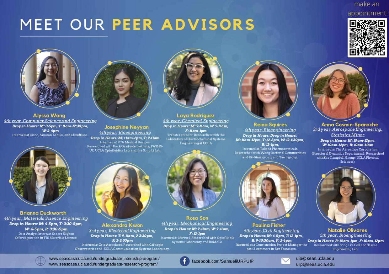 Meet Our Peer Advisors