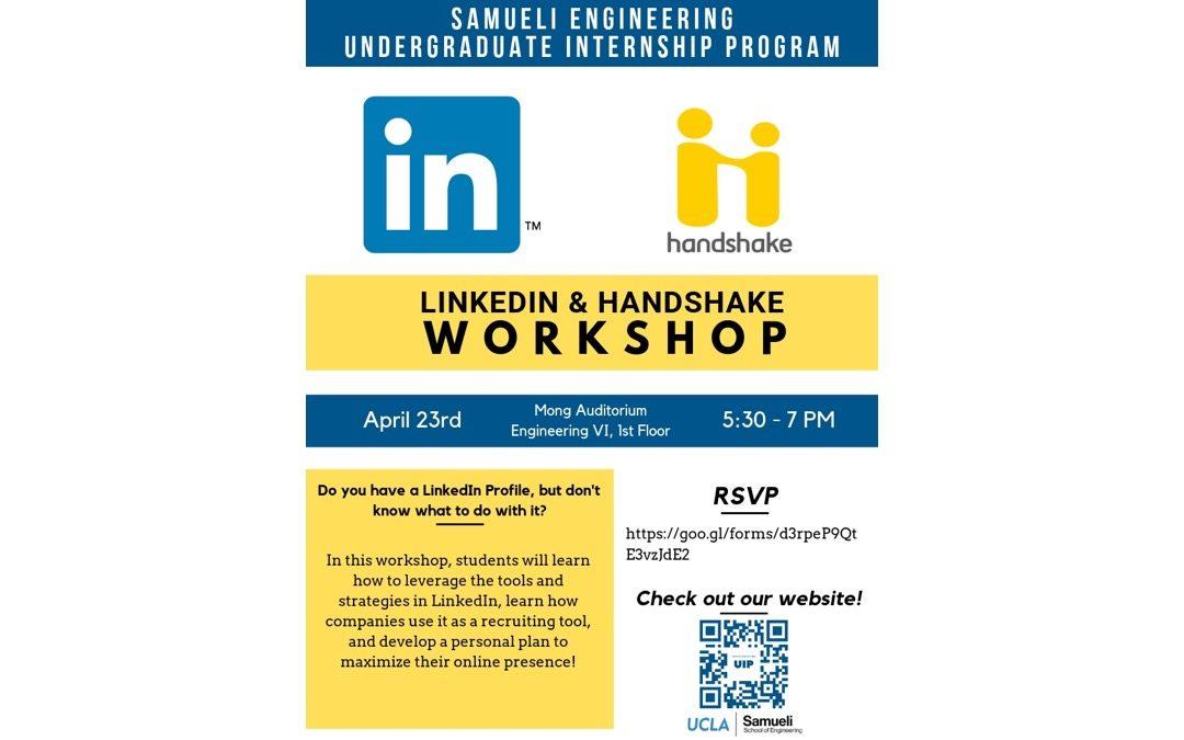 LinkedIn & Handshake Workshop