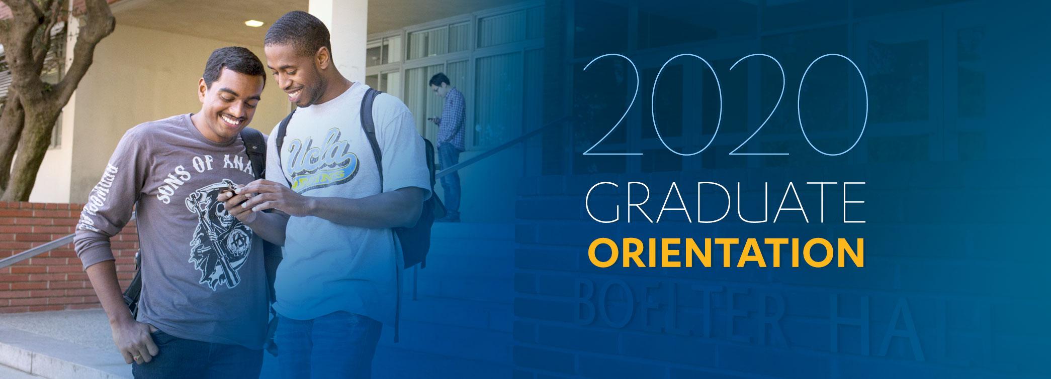 2020 Graduate Orientation Hero Imageg