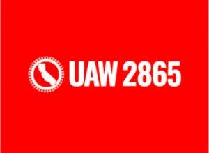 UAW 2865 Logo